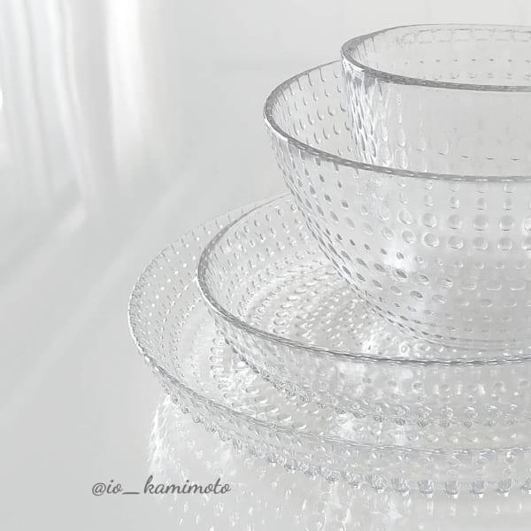 カステヘルミ風ガラスボウル