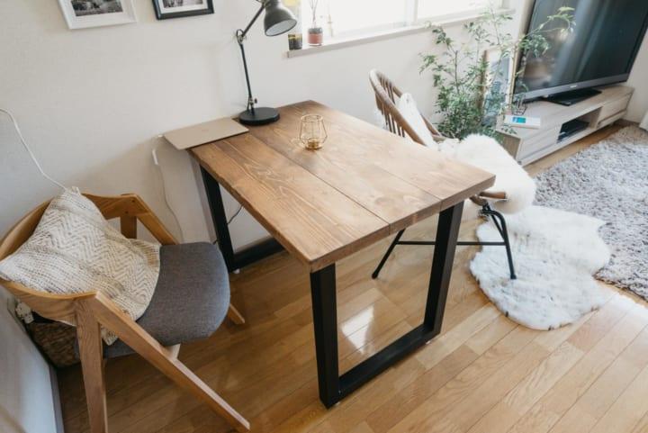 ワンルーム・1DKのダイニングテーブル2