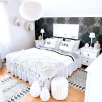 寝室に人気のアクセントクロス特集!人気の色&柄を取り入れて落ち着く空間を作ろう
