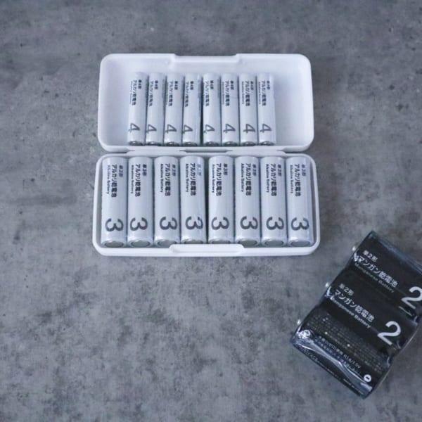 使えるアルカリ乾電池・マンガン電池