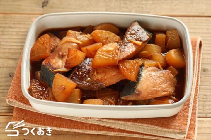 魚を使った保存食に!美味しいレシピのぶり大根