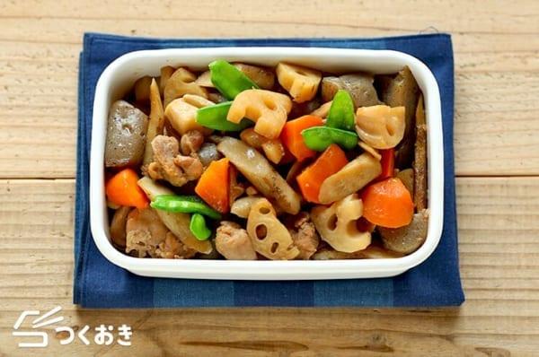 こんにゃくの簡単な副菜レシピに!筑前煮