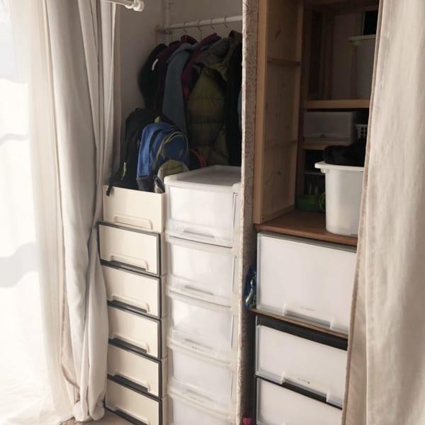 暖かい季節のアウター収納テクニック