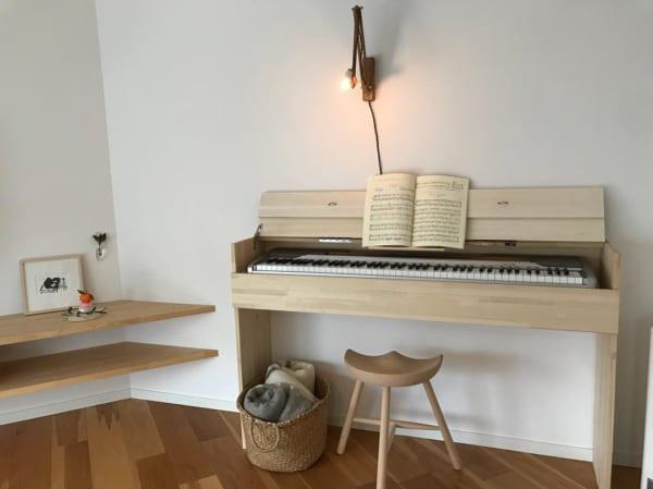電子ピアノがインテリアにマッチ