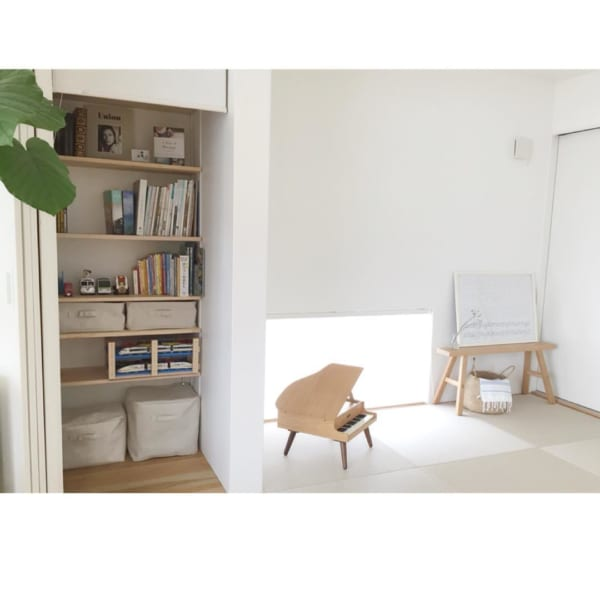 琉球畳のシンプル&スタイリッシュな和室