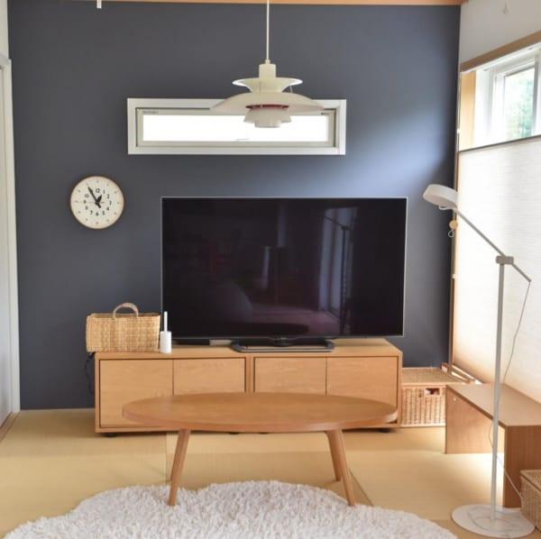 琉球畳と北欧家具が相性抜群