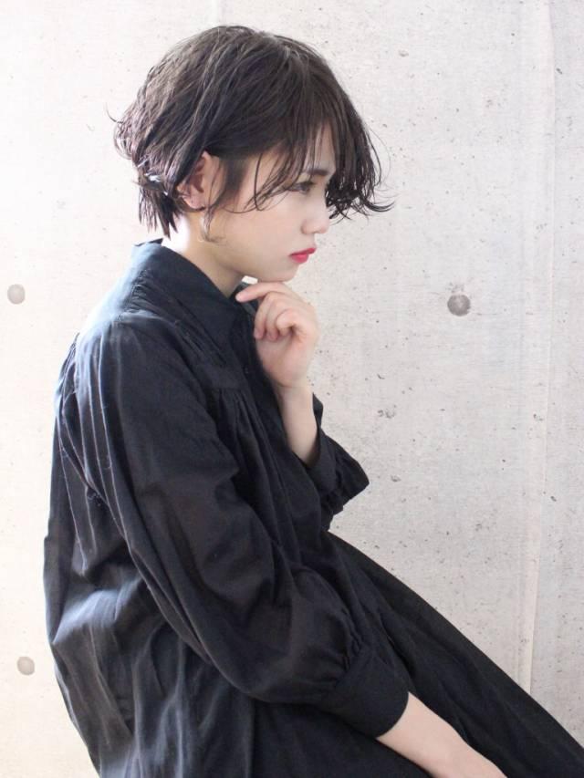 梅雨におすすめの髪型《ショート》3