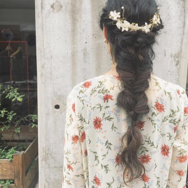 夏フェスにおすすめの髪型《ロング》7