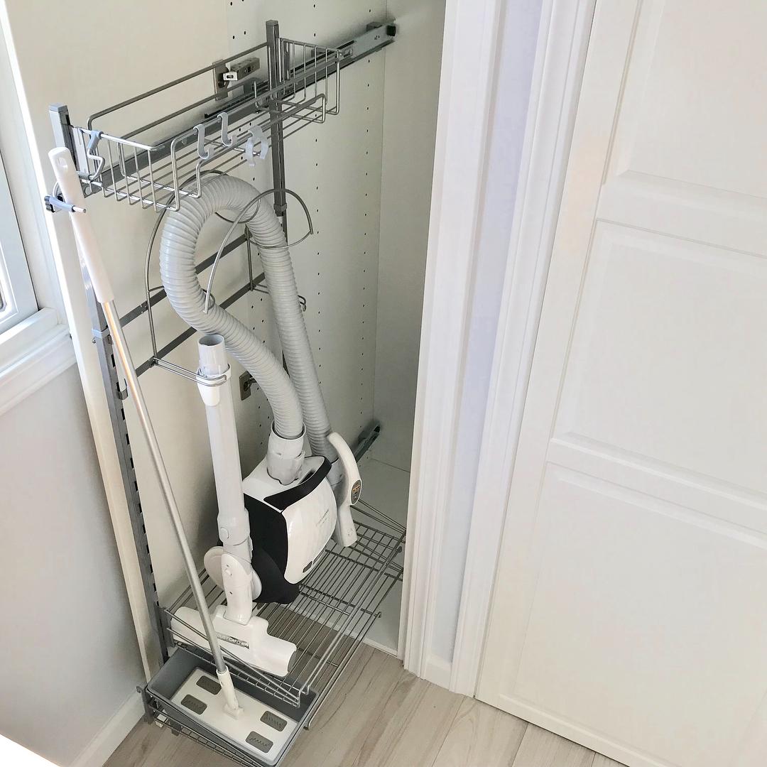 IKEAの掃除用品入れを使用