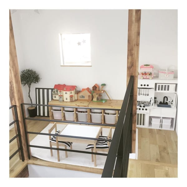 子供部屋収納アイデア2