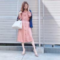 春は職場でも女性らしく♡オフィスカジュアルのフェミニンコーデ!