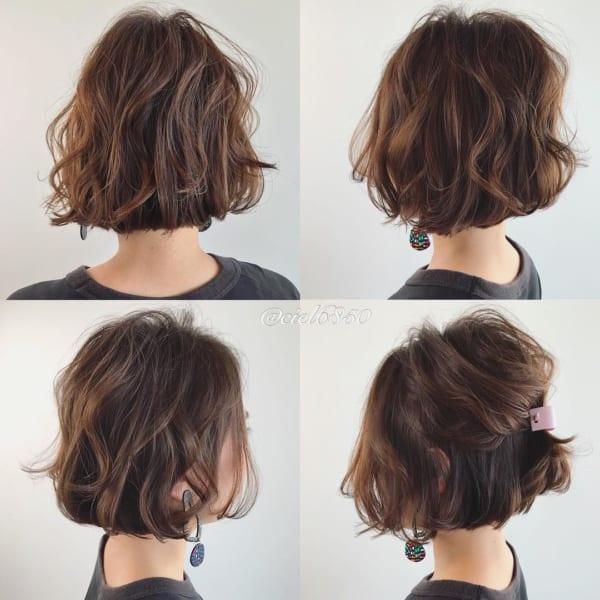 夏フェスにおすすめの髪型《ボブ》3