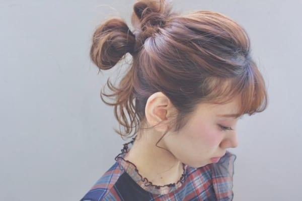 梅雨におすすめの髪型《ミディアム》4