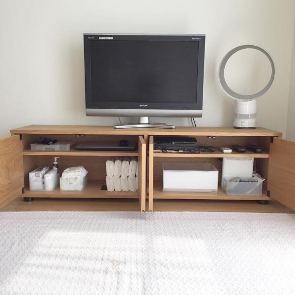 テレビボードの整理収納術