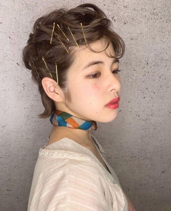 夏フェスにおすすめの髪型《ショート》4