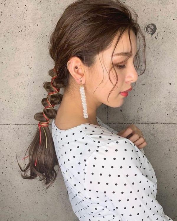 夏フェスにおすすめの髪型《ロング》