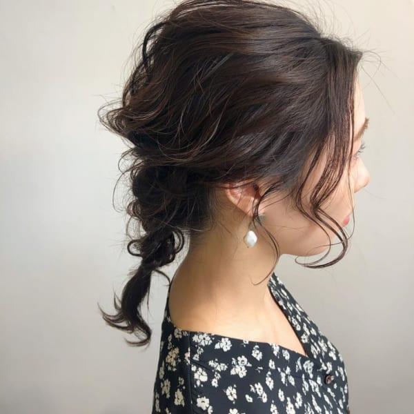 梅雨におすすめの髪型《ミディアム》3
