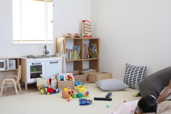 子供部屋収納アイデア17