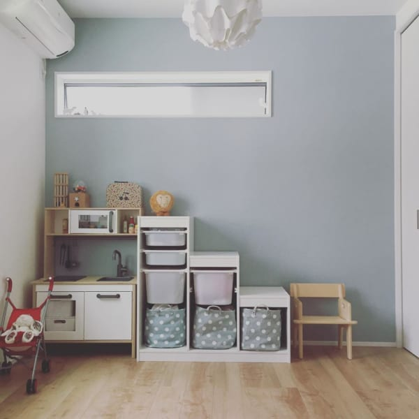 子供部屋収納アイデア18