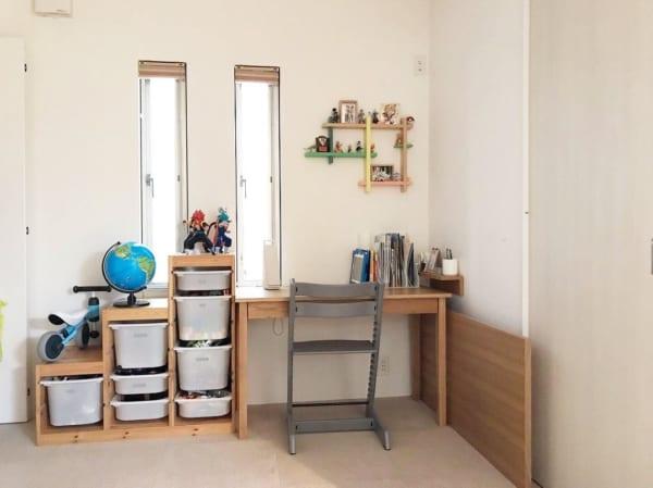 ざっくり収納しやすい家具