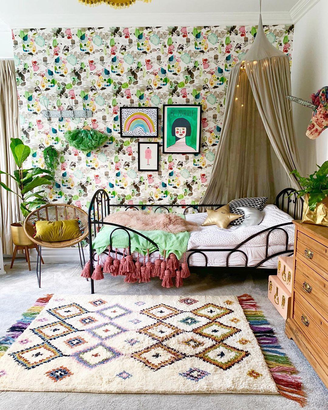 子供部屋の寝室4