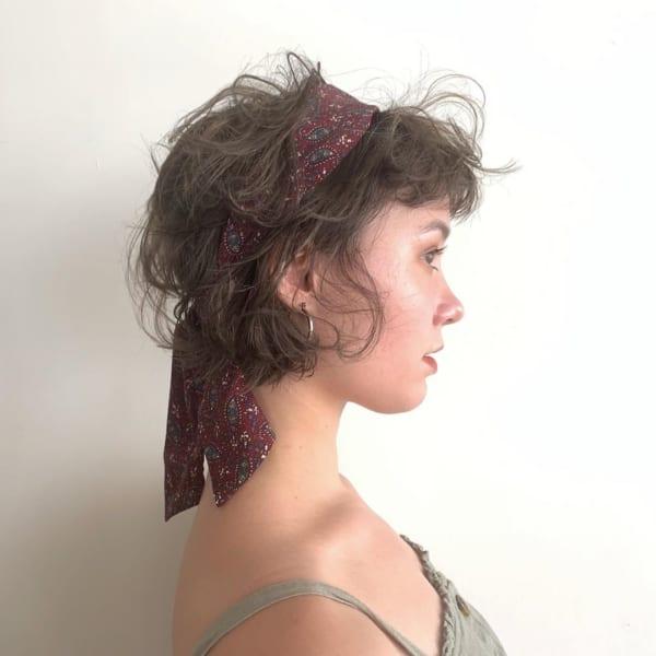 夏フェスにおすすめの髪型《ショート》5