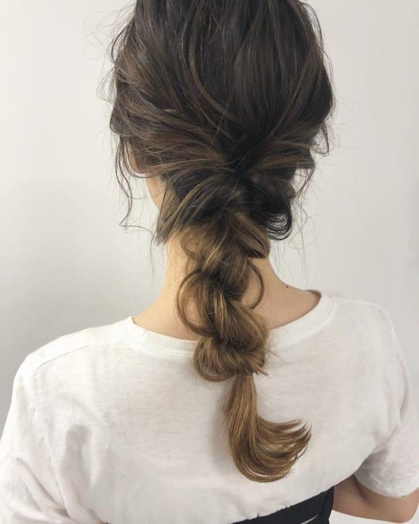 夏フェスにおすすめの髪型《ミディアム》9
