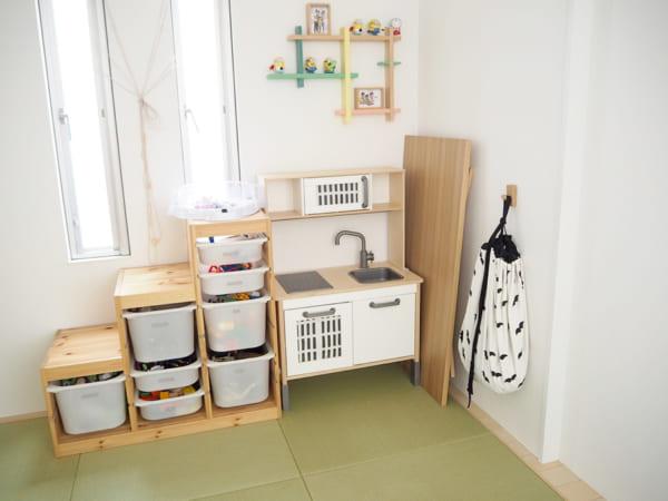 子供部屋収納アイデア4
