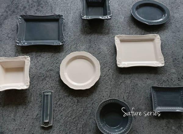 上品なサフレシリーズのテーブルウェア