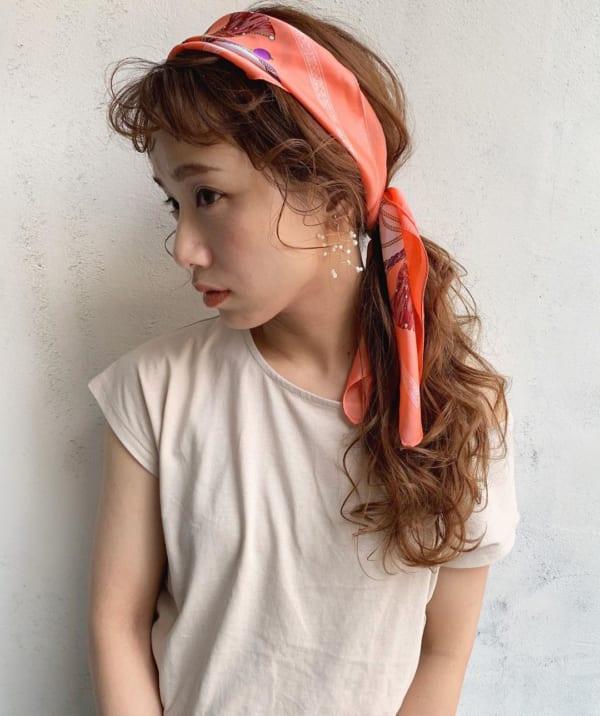 夏フェスにおすすめの髪型《ロング》2