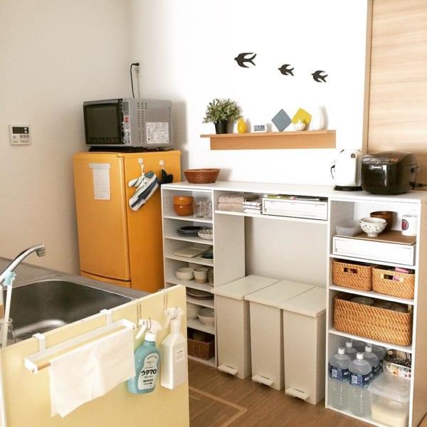 食器棚として使う