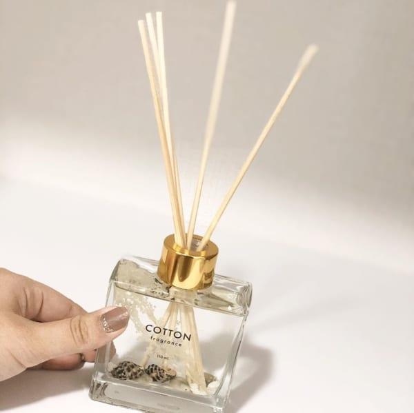 心地良い香りのプリザーブドディフューザー