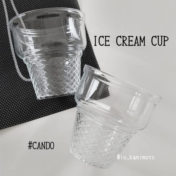 アイスクリームカップ/キャンドゥ