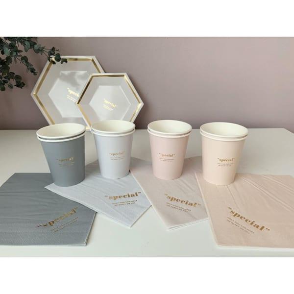 洗い物不要の紙製食器