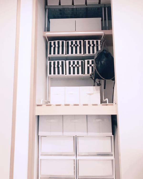 収納ケースを使った押入れの収納アイデア5