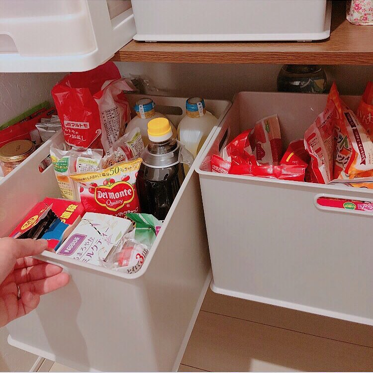 食料品 ストック収納6