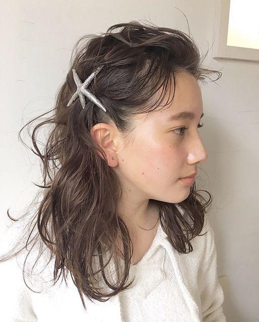 夏フェスにおすすめの髪型《ミディアム》7