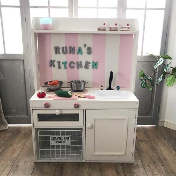 かわいいおままごとキッチン
