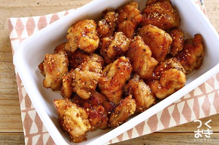 鶏肉の名古屋風ピリ辛から揚げ