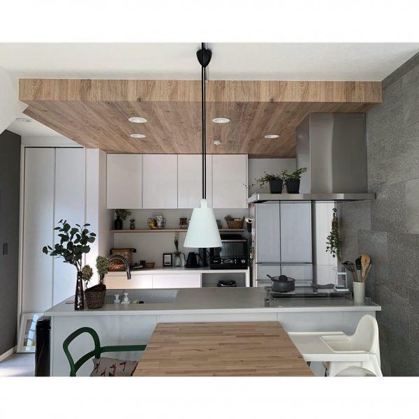 キッチン 照明3