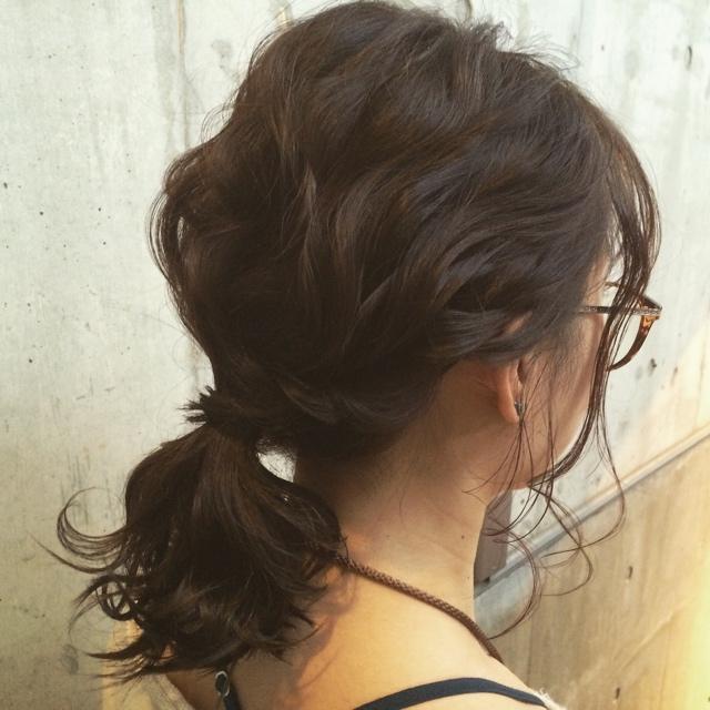 梅雨におすすめの髪型《ミディアム》2