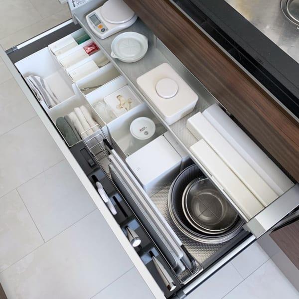 キッチンの日用品などの収納