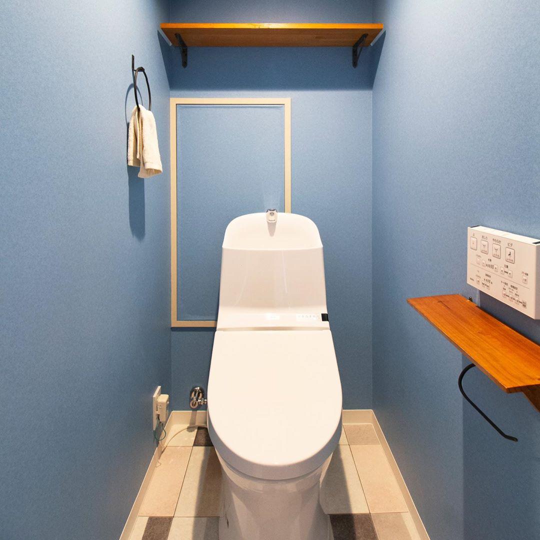 トイレに人気のアクセントクロス特集 おすすめのカラー 柄をご紹介 Folk