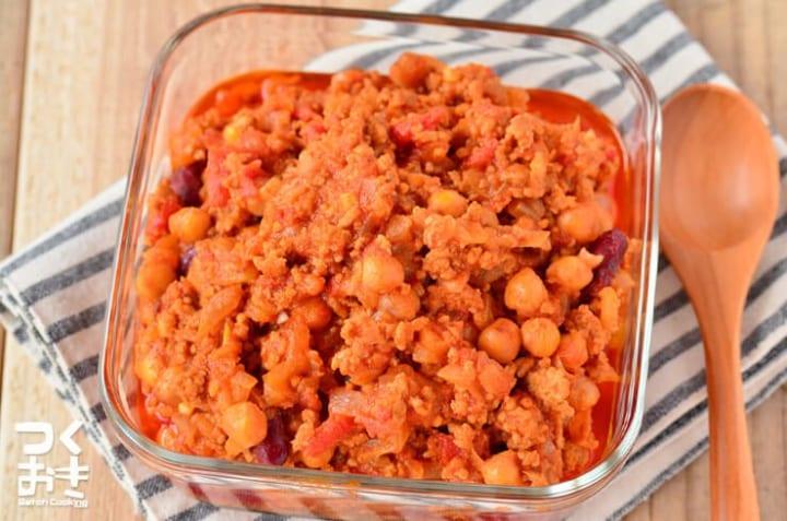 ちびちび食べたい簡単レシピ!チリコンカン