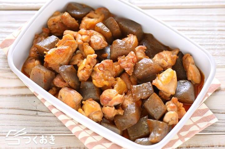 人気のおつまみ!鶏肉とこんにゃくの炒り煮