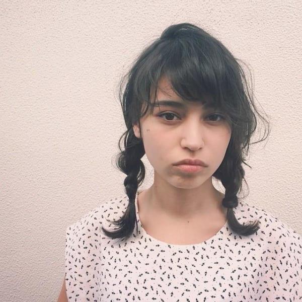 夏フェスにおすすめの髪型《ミディアム》8