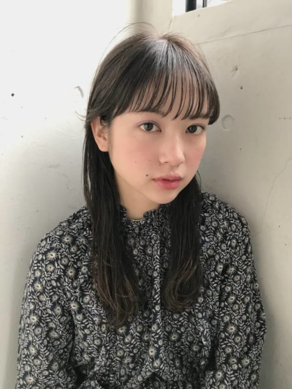 夏に人気の黒髪×ロングヘア3