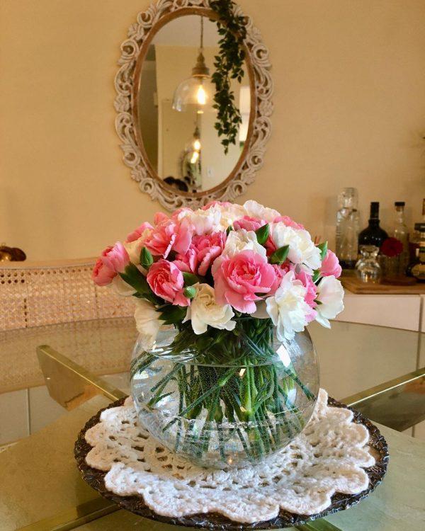 お花の飾り方を6