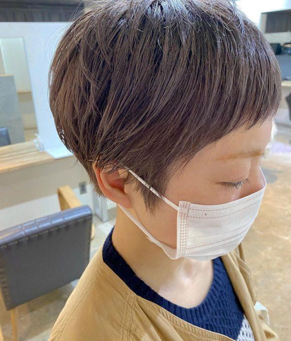 前髪ぱっつん×ショートヘアカタログ10