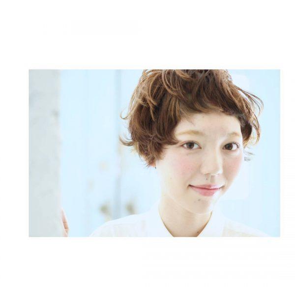 前髪ぱっつん×ショートヘアカタログ12